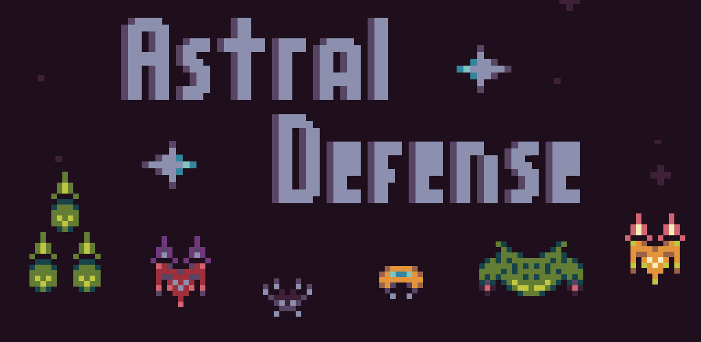 Pixel Pajama Studios Game: Astral Defense Header Image