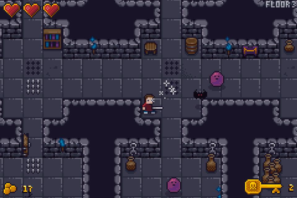 Pixel Pajama Studios Demo: Doomridge Dungeon Gameplay Screenshot