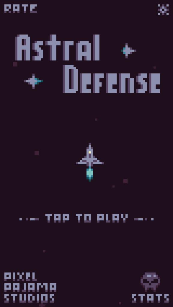 Astral Defense Title Screenshot