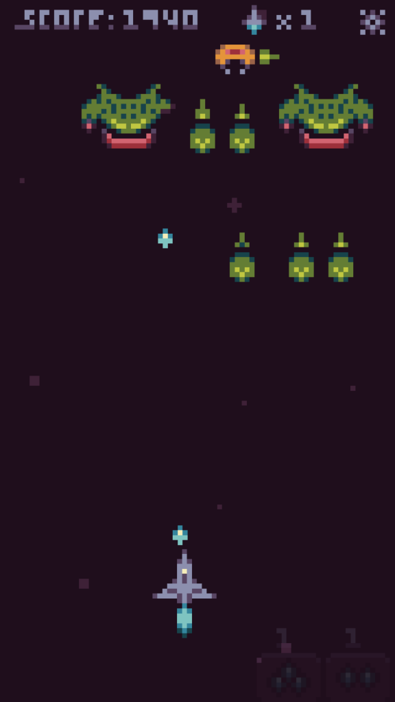 Astral Defense Gameplay Screenshot