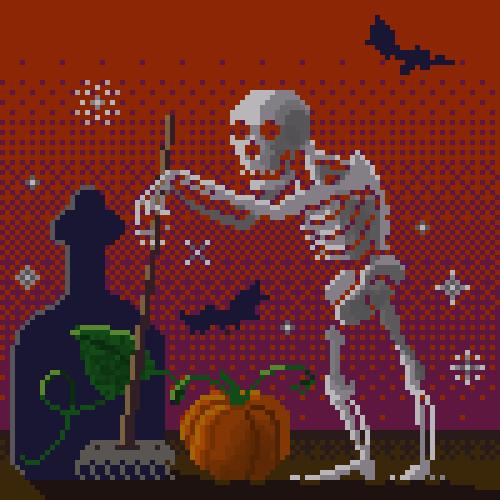 abonbon pixelart: gardener