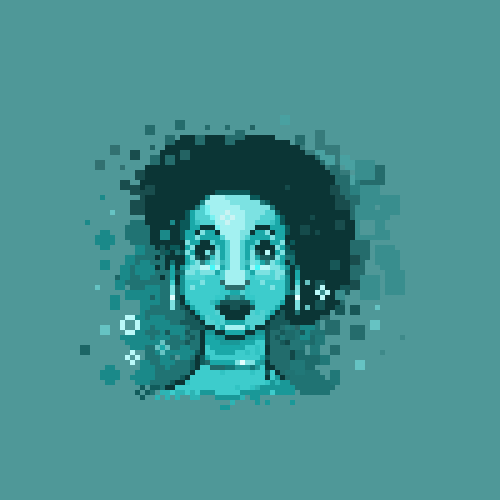 abonbon pixelart: june lady