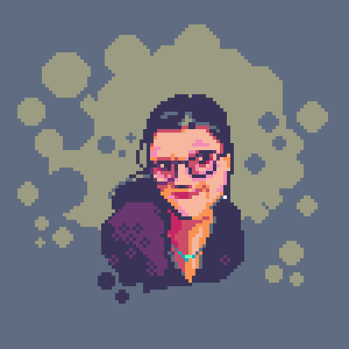 abonbon pixelart: self portrait