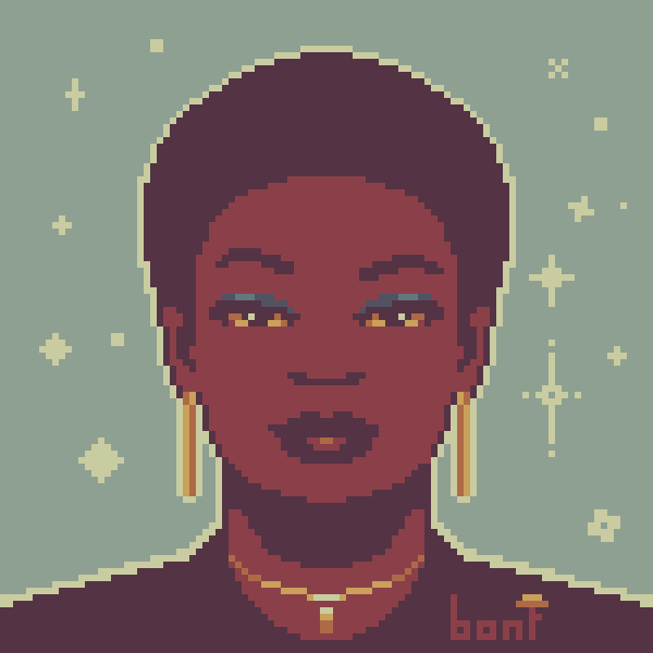 Magic Woman Portrait