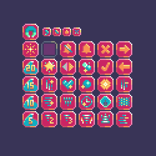 Sonar Smash Icons