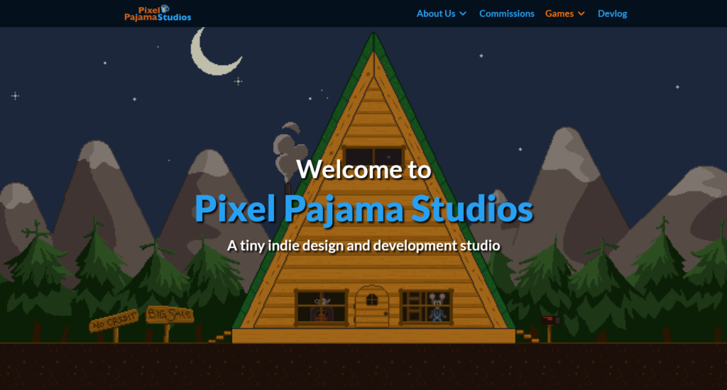 Pixel Pajama Studios (Dot) Com web development and design and developed by fedellen, Derek Sonnenberg