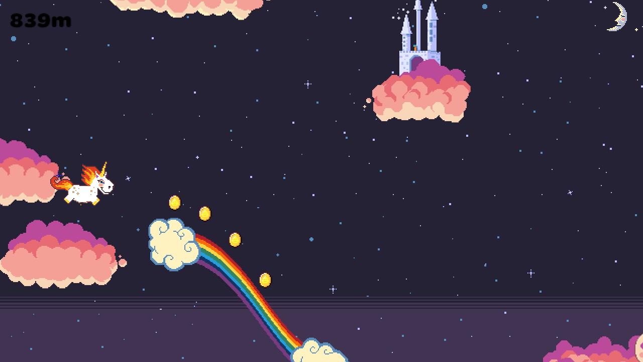 Rainbow Sparkle Time Alpha Screenshot