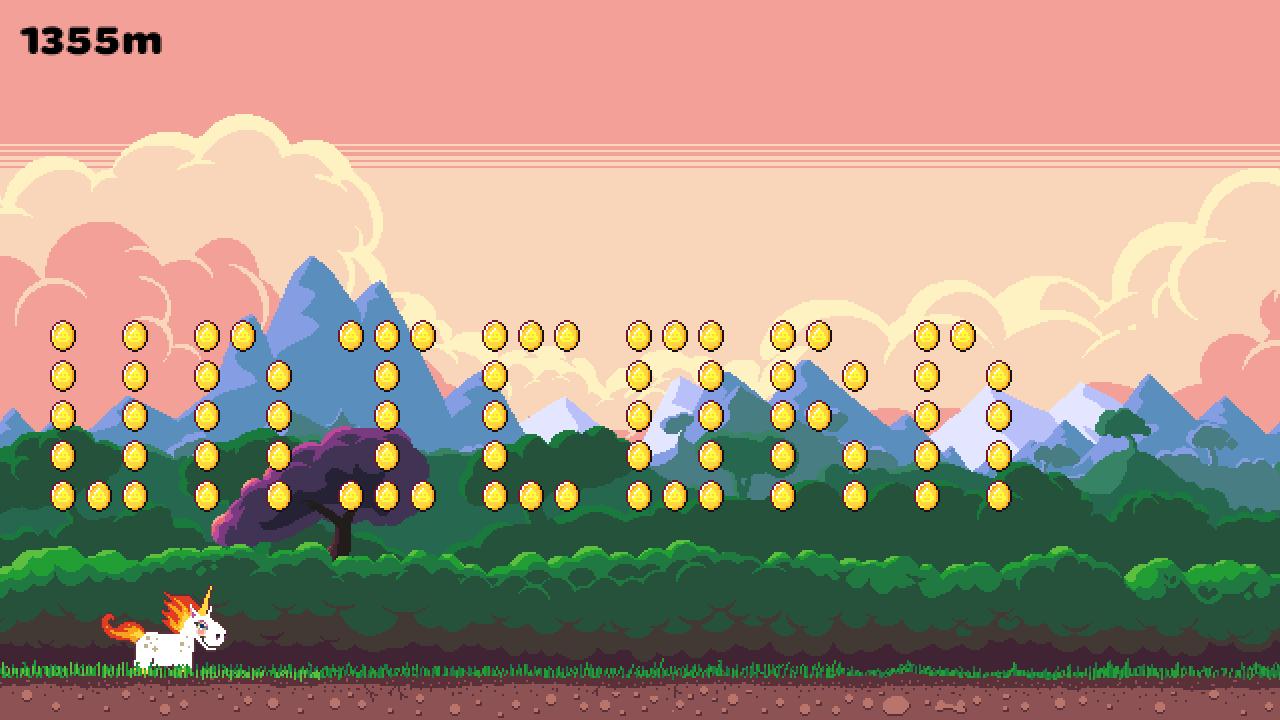 Rainbow Sparkle Time Prototype Screenshot