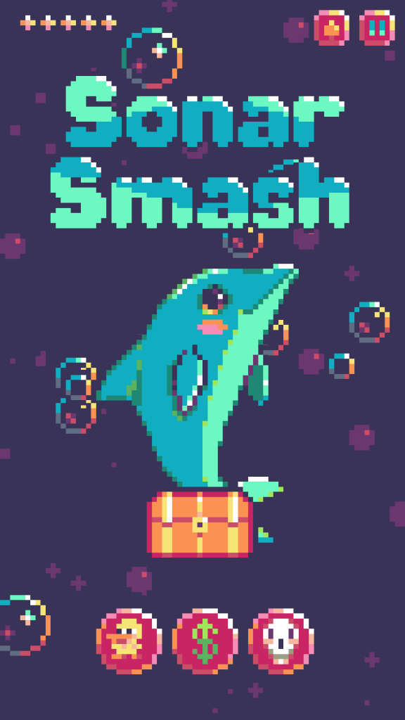 Sonar Smash Title Screenshot