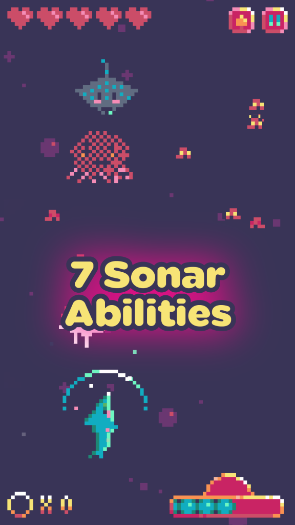 Sonar Smash 7 Sonar Abilities Screenshot