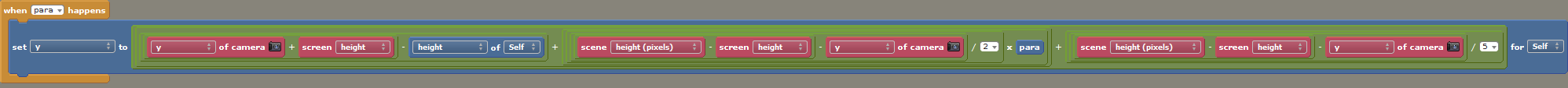 Stencyl Haxe Code - Vertical Parallax